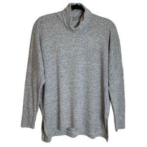 Aerie   Real Soft Oversized Grey Turtleneck
